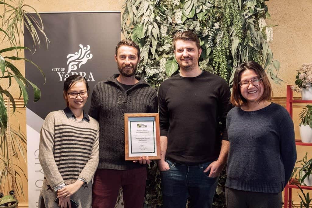 , Yarra Sustainability Awards 2018, SHM - Sustainable Homes Melbourne