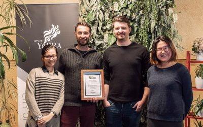 Yarra Sustainability Awards 2018