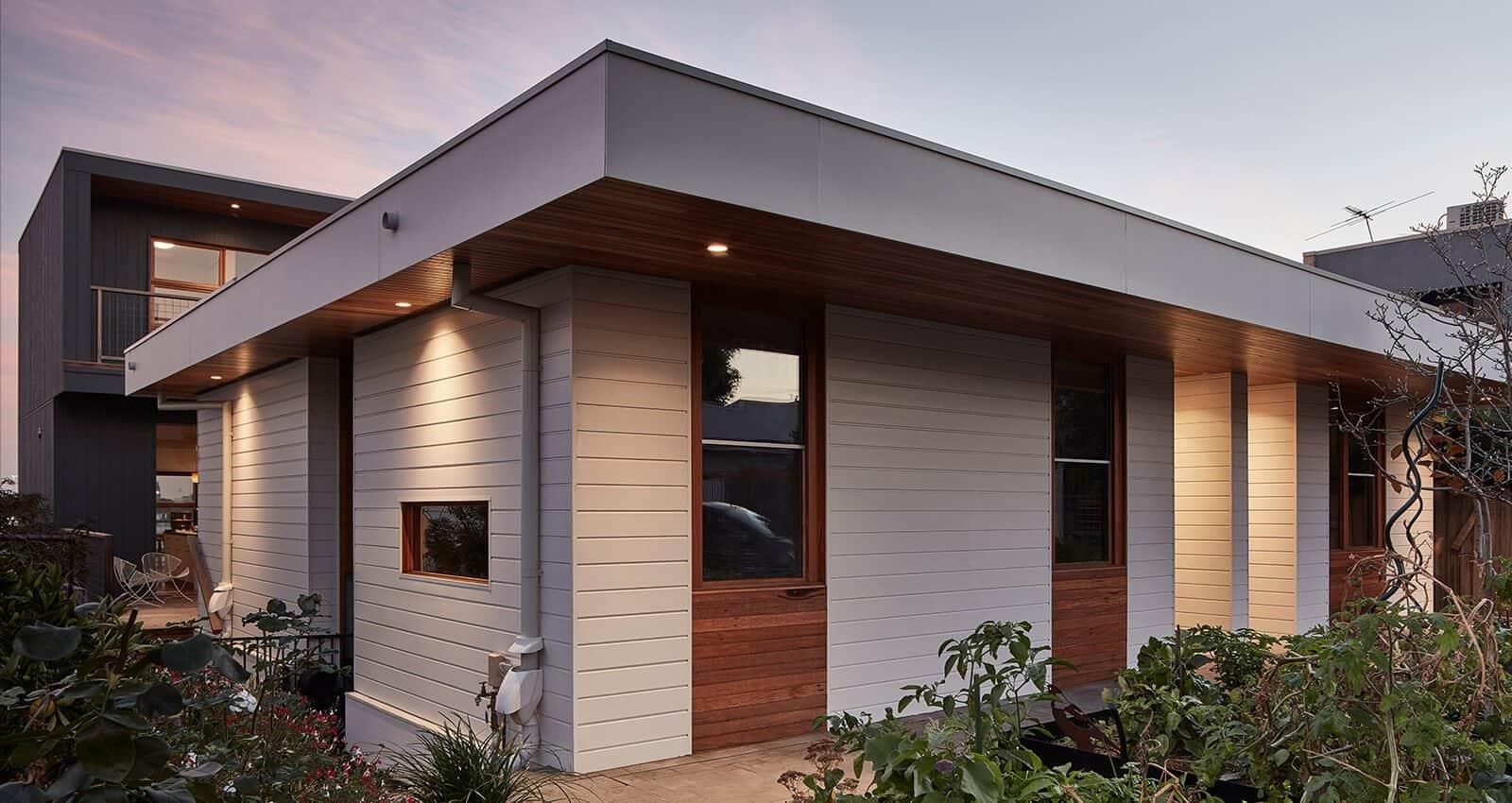 Clifton Hill home exterior facade