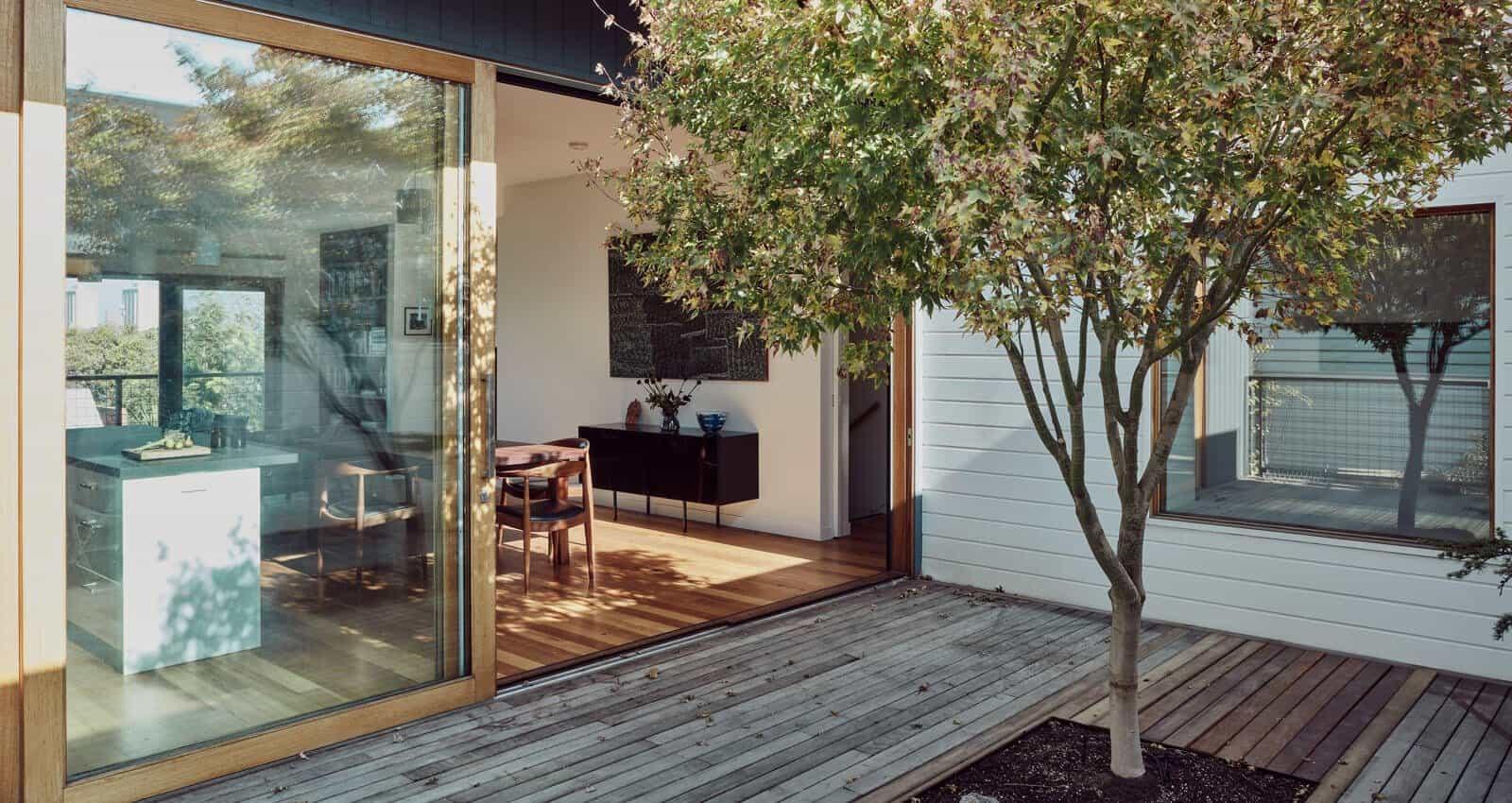 Clifton Hill Home outdoor decking