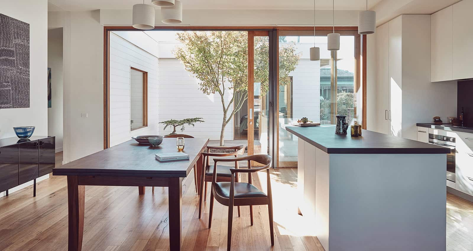 Clifton Hill home Kitchen and dining