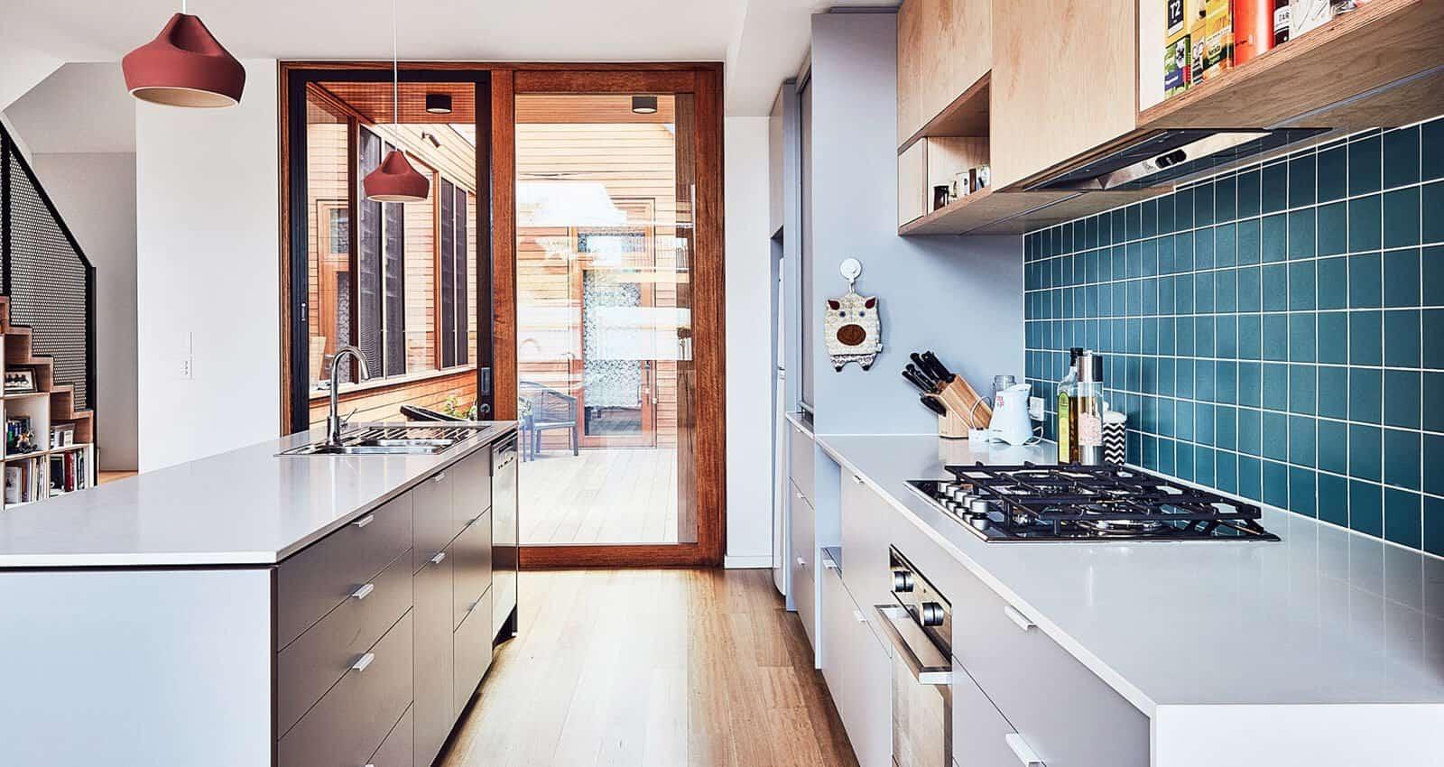 Glenlyon Rd home cabinet detail