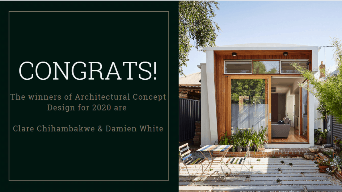 , Congratulations, the winners of Architectural Concept Design are…, SHM - Sustainable Homes Melbourne